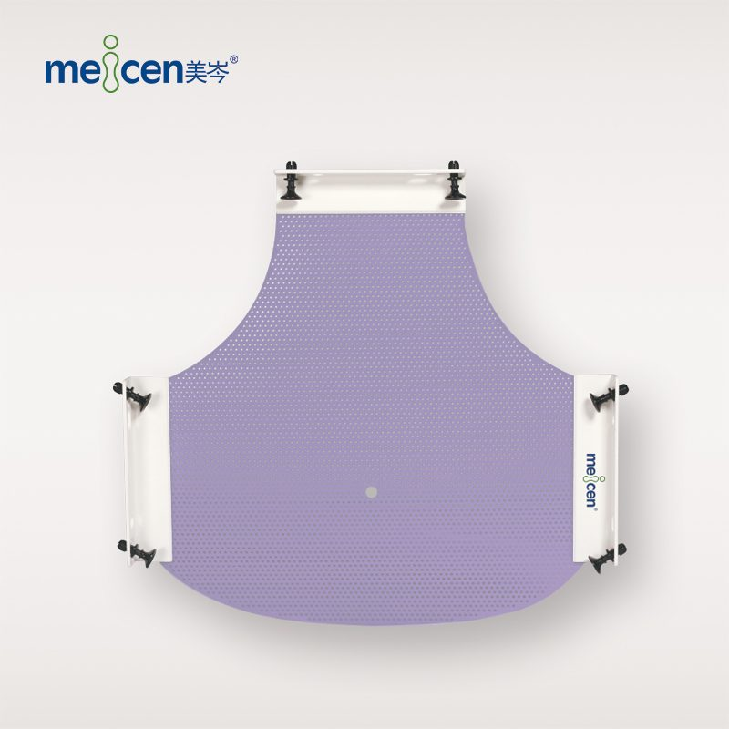 Meicen Violet P-Type 3-Point Head Mask with Quickfaster Radiotherapy Thermoplastic Mask