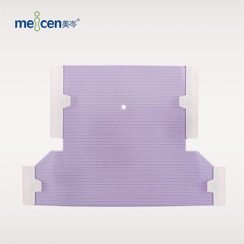 Meicen Violet Neck&Shoulder Mask 4 Point with Nose Hole