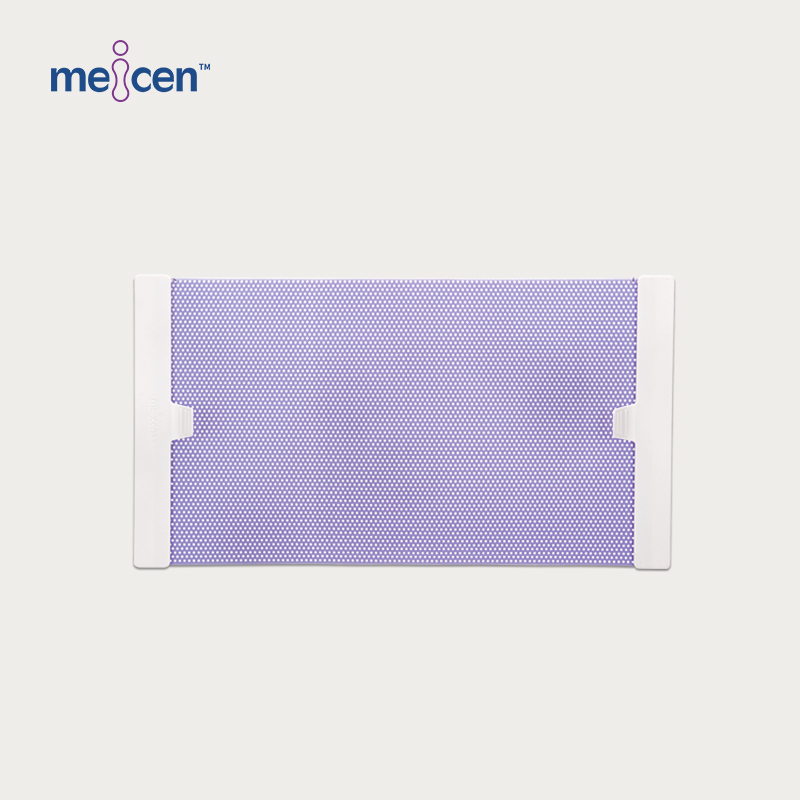 Meicen Violet Breast Mask 2 Point with Grip Radiotherapy Thermoplastic Mask