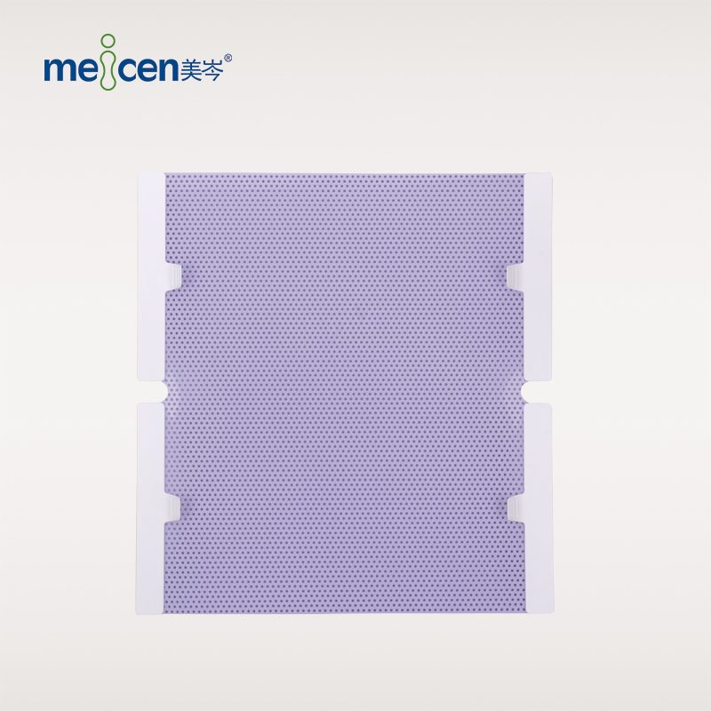 Meicen Violet Chest-Pelvis Mask , 4 Point Thermoplastic Mask