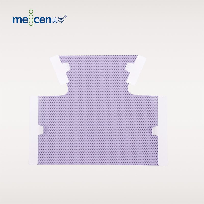 Meicen Violet Neck&Breast Mask 4 Point Thermoplastic Mask