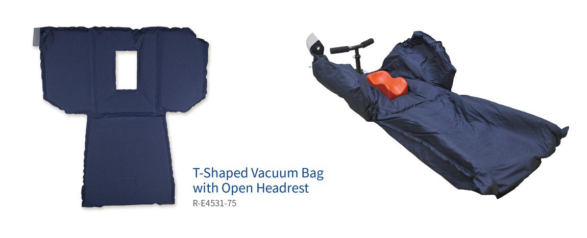 vacuum bags with open headrest
