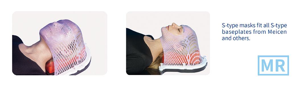 Meicen S-Shaped Violet Head Mask