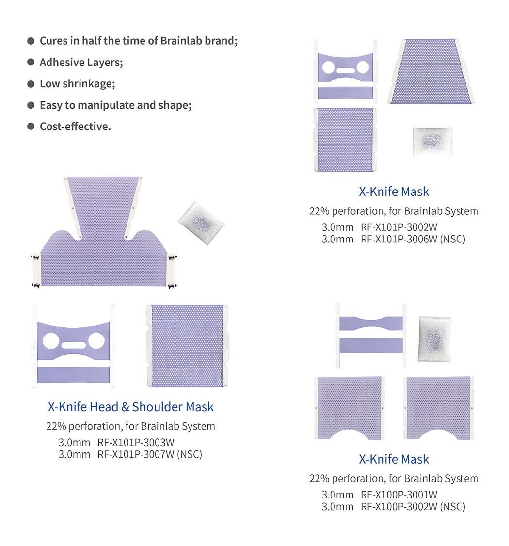 Meicen Violet X-Knife Mask for Brainlab system