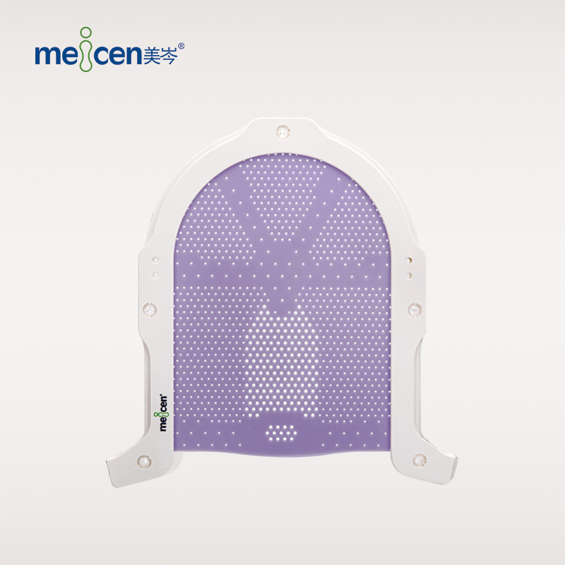 Meicen Violet S-Shaped Head Mask  S Frame Radiation Therapy Thermoplastic Mask Reinforced Pin-lock