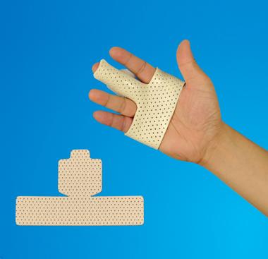 Thermoplastic Finger-Splint Low Temperature Materials Orthopedic Precut Splint