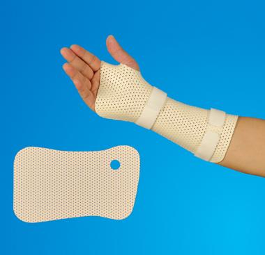 Thermoplastic Splint Thumb Hole Wrist Cock-up Meicen Precut Splint