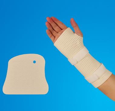 Thermoplastic Splint -Wrist& Thumbsplint of Tubular Shaped Precut