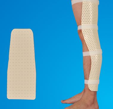Thermoplastic Splint -Knee Anti-Foot Drop/Ankle Foot Precut Splint