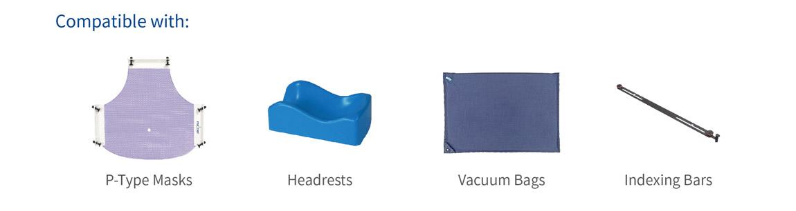 Meicen P-Series Head & Shoulder & Breast Baseplate