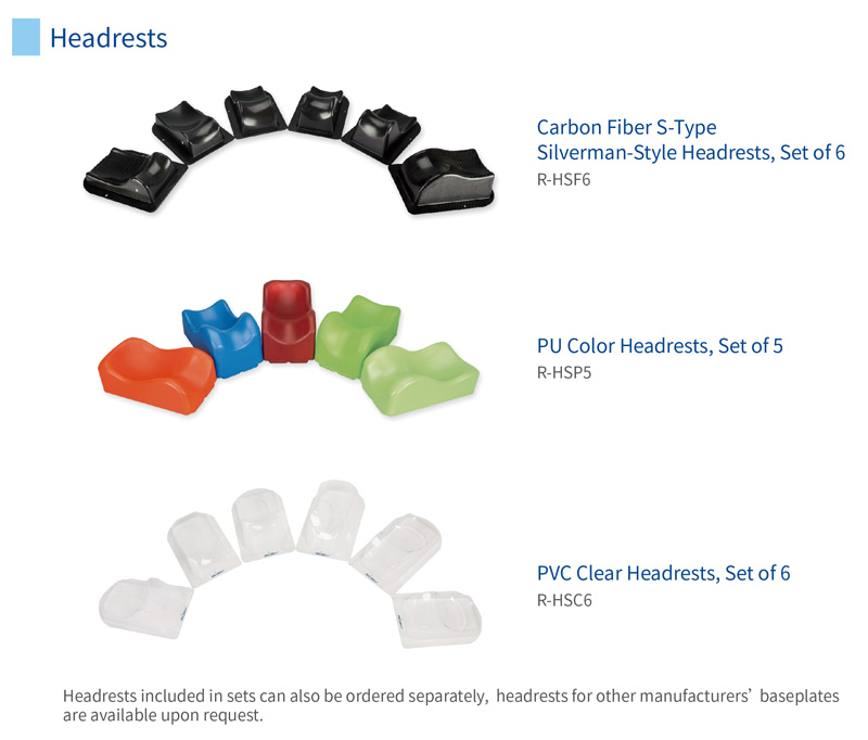 How to choose the right headrests for your patients?