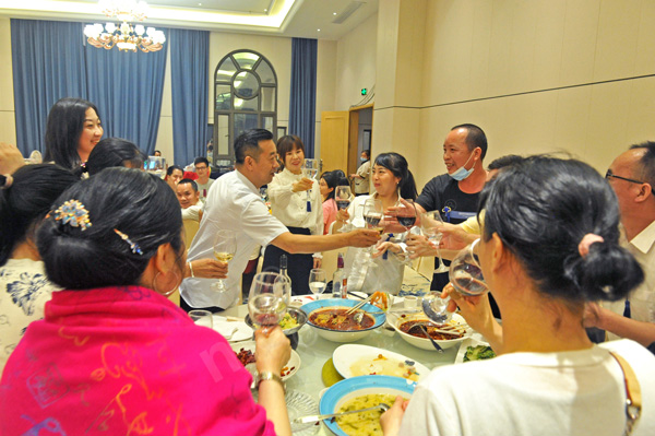 A Delayed But Delightful Annual Dinner Party