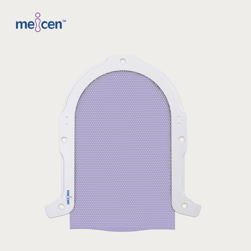 Meicen Violet S-Shaped Head Mask Lengthened 5cm Radiotherapy Thermoplastic Mask