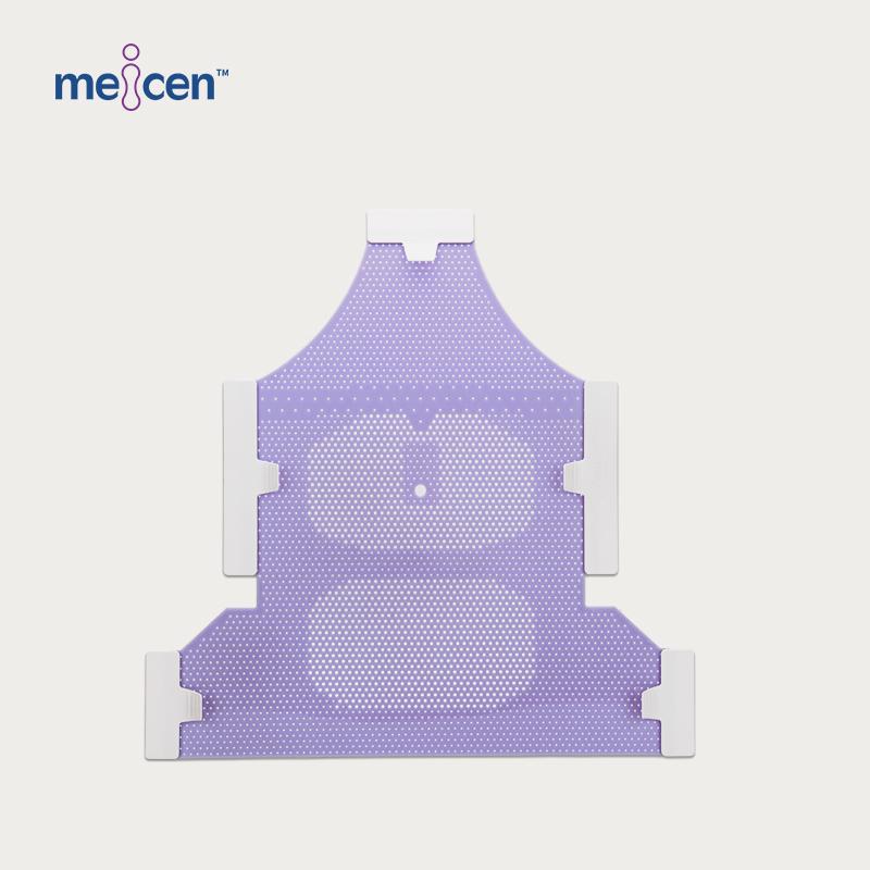 Meicen Violet Head&Neck&Shoulder Mask Reinforced 5-Point with Nose Hole