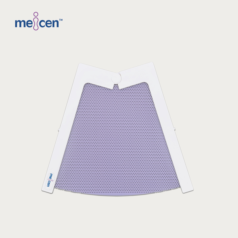 Meicen Violet Thermoplasitc Head Mask for Headstep & HipStep