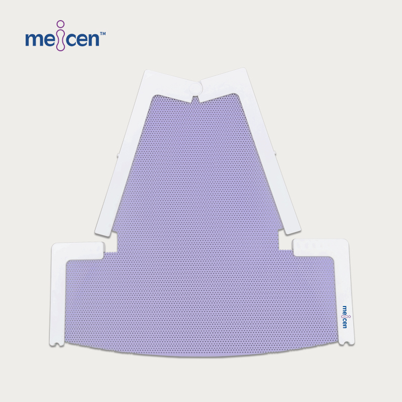 Meicen Violet HeadstepHead Mask Head&Neck&Shoulder Radiotherapy Thermoplastic Mask