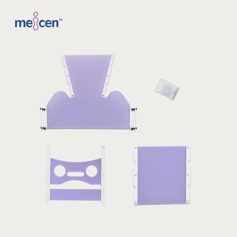 Meicen Violet X-Knife Head & Shouleder Mask for Brainlab System